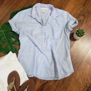 H&M Short Sleeve Popover